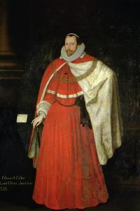 Edward Coke, Lord Chief Justice by The Younger Gheeraerts Marcus