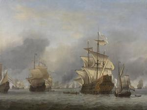 Capture of the Royal Prince, c.1670 by The Younger Velde Willem Van De