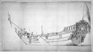 The Royal Yacht 'Mary' by The Younger Velde Willem Van De