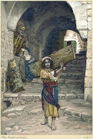 The Youth of Jesus, C1897-James Jacques Joseph Tissot-Giclee Print