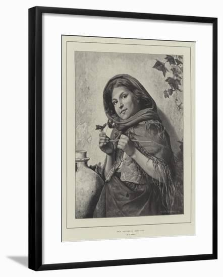 The Youthful Botanist-Antonio Rotta-Framed Giclee Print