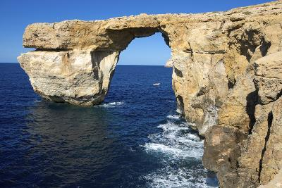 The Zerka or Azure Window at Dwejra Park on Gozo, Malta-Richard Wright-Photographic Print
