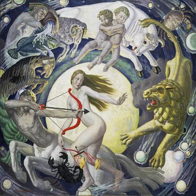 The Zodiac-Ernest Procter-Giclee Print