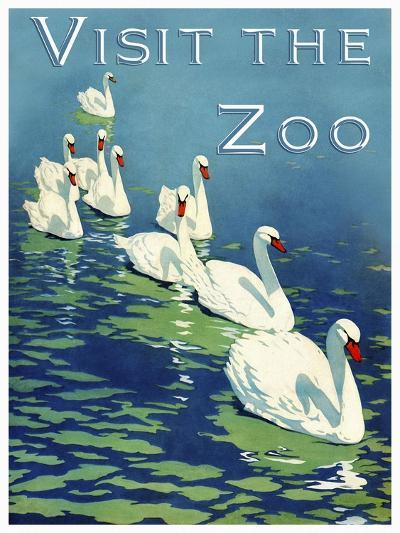 The Zoo 002-Vintage Lavoie-Giclee Print