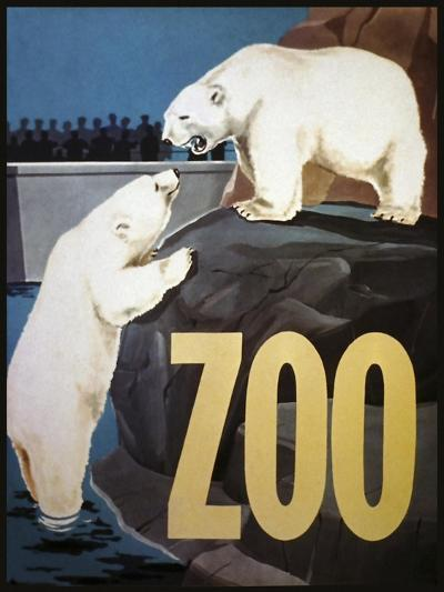 The Zoo 003-Vintage Lavoie-Giclee Print