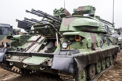 The Zsu-23-4 Shilka of the Polish Armed Forces-Stocktrek Images-Photographic Print