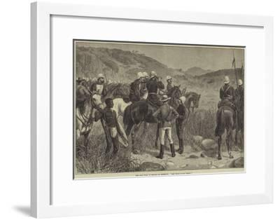 The Zulu War, in Search of Cetewayo, Are Those Zulus There?-Frank Dadd-Framed Giclee Print