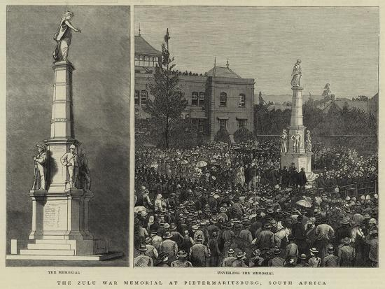 The Zulu War Memorial at Pietermaritzburg, South Africa--Giclee Print