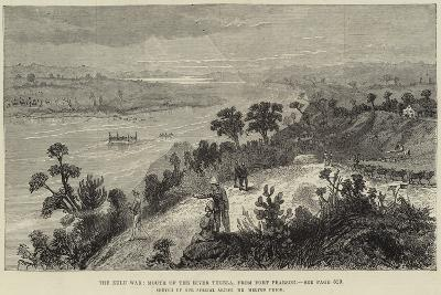 The Zulu War, Mouth of the River Tugela, from Fort Pearson-Melton Prior-Giclee Print
