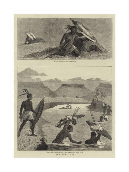 The Zulu War-Samuel Edmund Waller-Giclee Print