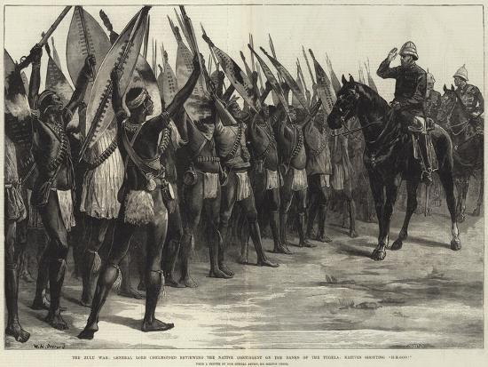 The Zulu War-William Heysham Overend-Giclee Print