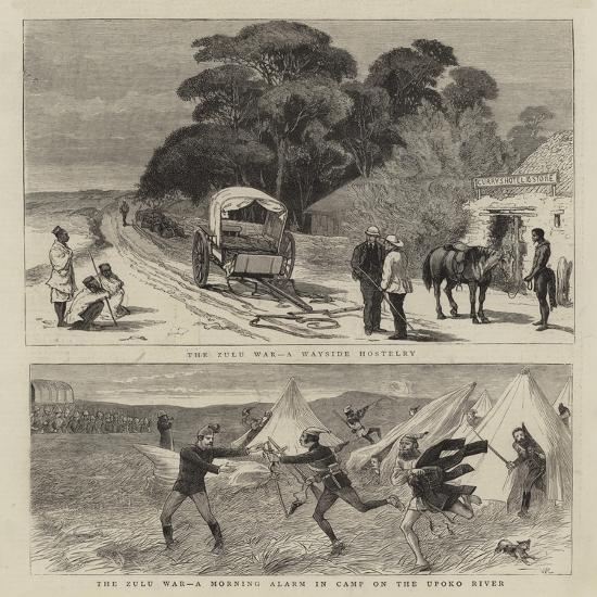 The Zulu War-William Ralston-Giclee Print