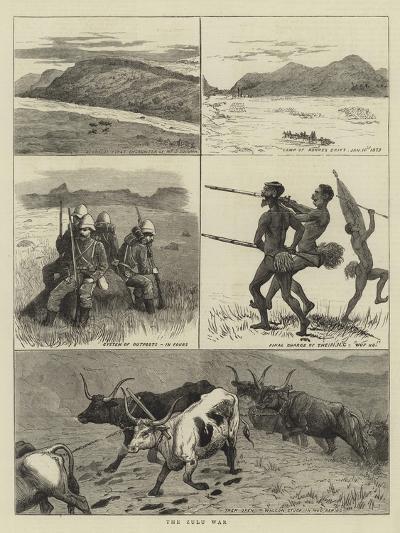 The Zulu War--Giclee Print