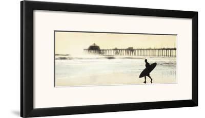 Surfer at Huntington Beach