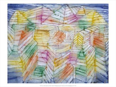 Theater Mountain Construction, 1920-28-Paul Klee-Art Print
