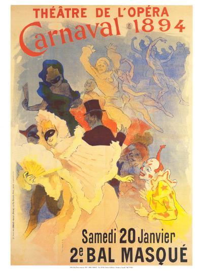 Theatre de l'Opera-Jules Ch?ret-Art Print