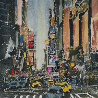 Theatre District, New York-Susan Brown-Giclee Print