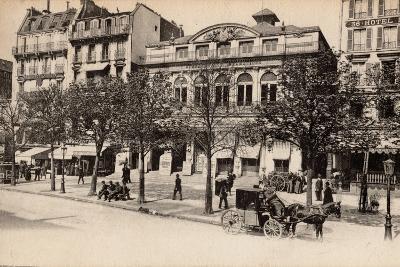 Théâtre Du Gymnase, Boulevard Bonne-Nouvelle, Paris, 1890--Photographic Print