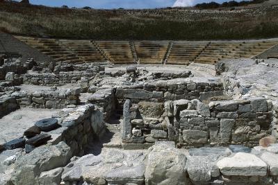 Theatre in Eraclea Minoa, Cattolica Eraclea, Sicily, Italy BC--Giclee Print