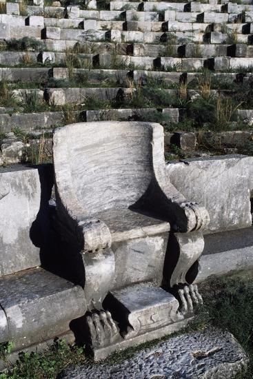 Theatre in Priene, Turkey--Giclee Print