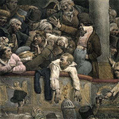 Theatre, Late 16th-Early 17th Century-Jacques Bellange-Giclee Print