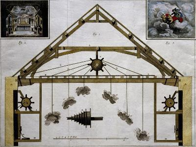 Theatre Machinery for Plays, France--Giclee Print