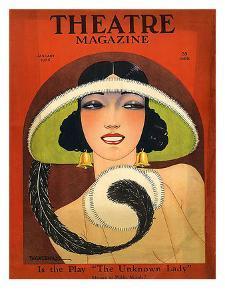 Theatre Magazine, 1924, USA