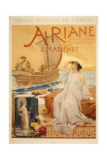 Theatre National de L Opera-Marcus Jules-Giclee Print