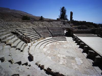 Theatre of Ancient City of Bulla Regia--Giclee Print