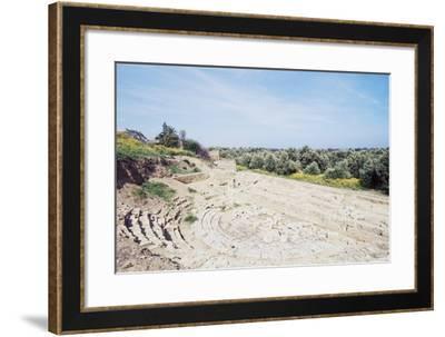 Theatre of Ancient Scolacium, Roccelletta Di Borgia, Calabria, Italy--Framed Giclee Print