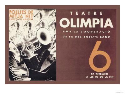 Theatre Olimpia-E^ Mora-Art Print