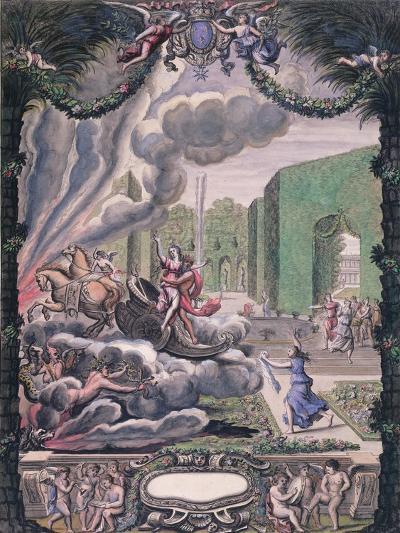 Theatre Scene, Late 17th Century--Giclee Print