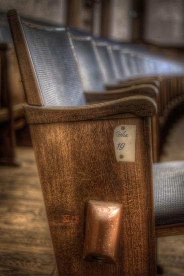 Theatre Seating-Nathan Wright-Photographic Print