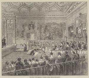 Theatrical Performance at Windsor Castle, before Her Majesty