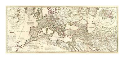 Theatrum Historicum, c.1705-Guillaume De Lisle-Art Print