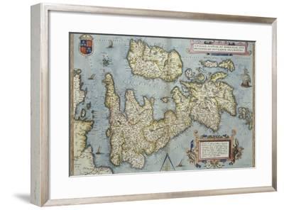 Theatrum Orbis Terrarum-Abraham Ortelius-Framed Giclee Print