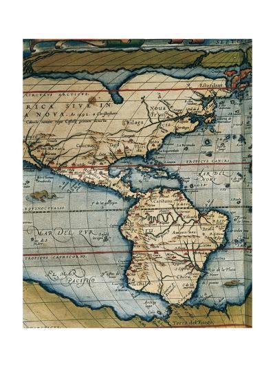 Theatrum Orbis Terrarum-Abraham Ortelius-Giclee Print