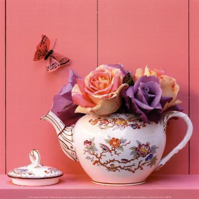 Theiere de Roses-Gaillard-Art Print