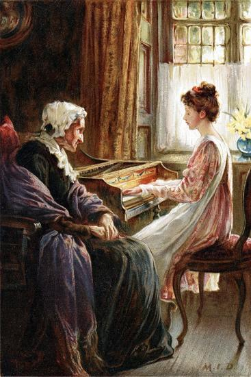 Their Evening Hymn, 1892-Margaret Isabel Dicksee-Giclee Print