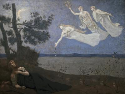 Thele Reve Dream-Pierre Puvis de Chavannes-Giclee Print