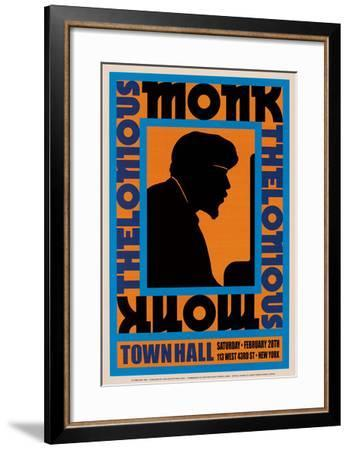 Thelonious Monk, 1959-Unknown-Framed Art Print