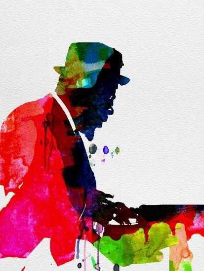 Thelonious Watercolor-Lora Feldman-Premium Giclee Print