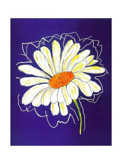 Theme in Blue III-H^ Grosjean-Art Print