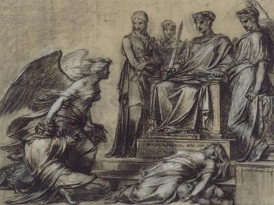 Thémis et Némésis-Pierre Paul Prud'hon-Giclee Print