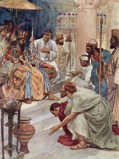 Themistocles at the Persian Court-William Rainey-Giclee Print