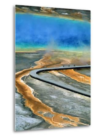 Boardwalk at the Grand Prismatic Spring, Yellowstone National Park, Wyoming