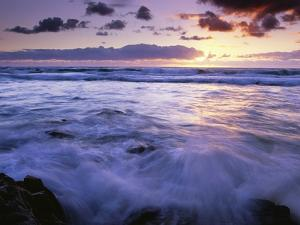 Fraser Island Coast at Sunrise by Theo Allofs