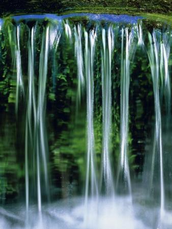 Small cascades in the Yosemite National Park, California