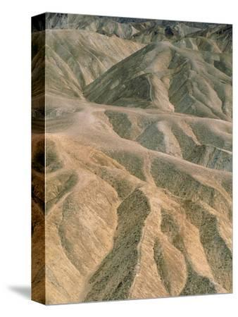 Zabriskie Point in the Death Valley National Park, California (USA)