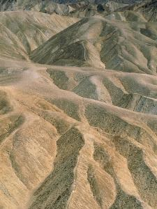 Zabriskie Point in the Death Valley National Park, California (USA) by Theo Allofs